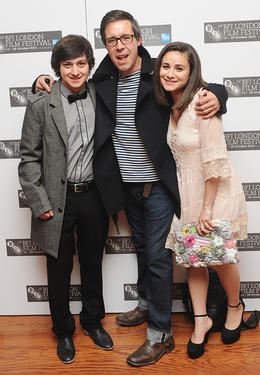 Craig Roberts, Paddy Considine and Yasmin Paige at the premiere of &quot;Submarine&quot; during the 54th BFI London Film Festival.